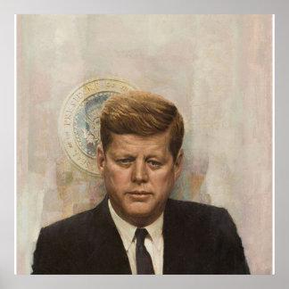 John Fitzgerald Kennedy大統領 ポスター