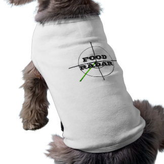 jokeapptv tmによる食糧レーダーのワイシャツ ペット服