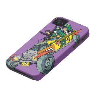 Jokermobileのバットマンの悪人 Case-Mate iPhone 4 ケース