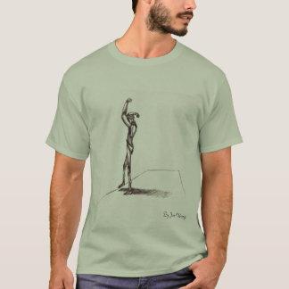Jon Wong著解剖学のスケッチ、 Tシャツ