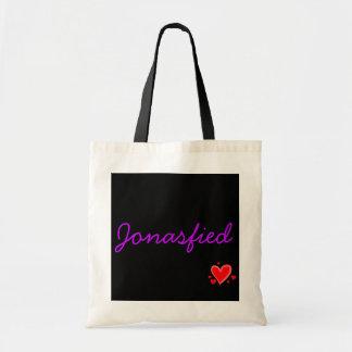 Jonasfied (紫色) トートバッグ