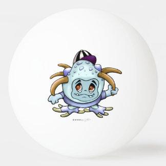 JONI PITTYの卓球1の外国の漫画の球は主演します 卓球ボール