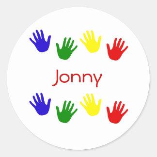 Jonny ラウンドシール