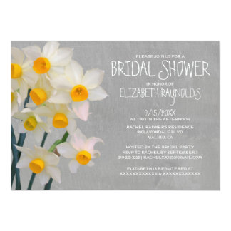 Jonquilのブライダルシャワー招待状 カード