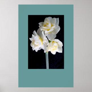 Jonquilの花- Ecclesiastesの3:1 ポスター