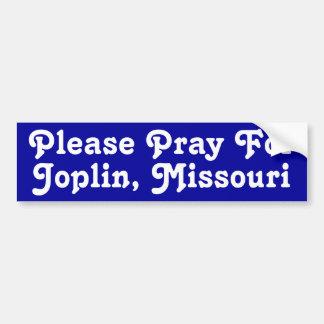 Joplin、ミズーリ バンパーステッカー