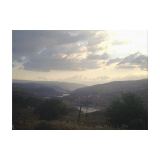 Jordan Valley 1 キャンバスプリント
