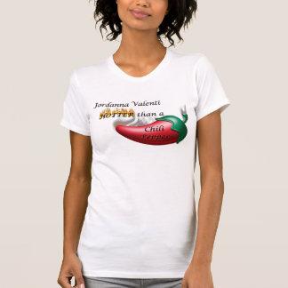 Jordannaバレンティ-チリペッパー Tシャツ