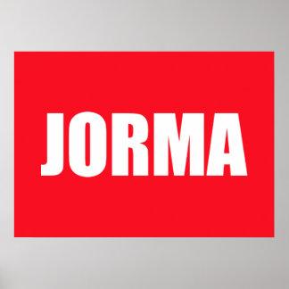 Jorma ポスター