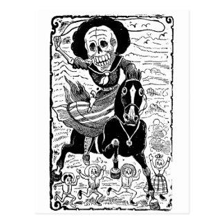 Joséグアダルペポザーダ著Revolucionaria ポストカード