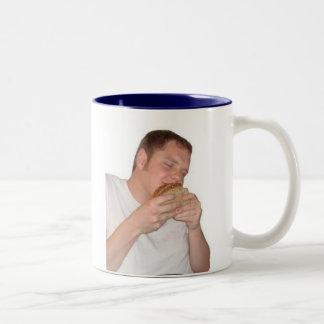 Joshのハートサンドイッチマグ ツートーンマグカップ