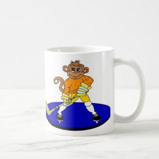 Joshアイスホッケー猿 コーヒーマグカップ