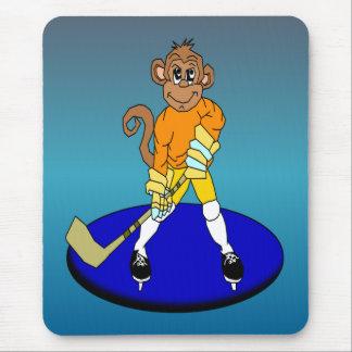 Joshアイスホッケー猿 マウスパッド