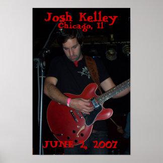 Josh Kelleyの昇進ポスター ポスター