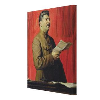 Josifスターリン1933年のポートレート キャンバスプリント