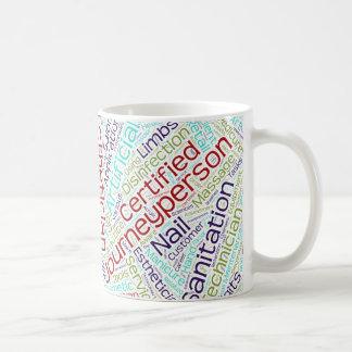 Journeypersonのエステティシャンのギフト コーヒーマグカップ