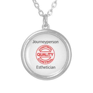 Journeypersonのエステティシャン シルバープレートネックレス
