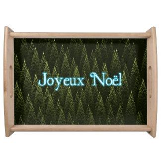 Joyeux Noёl -針葉樹 トレー