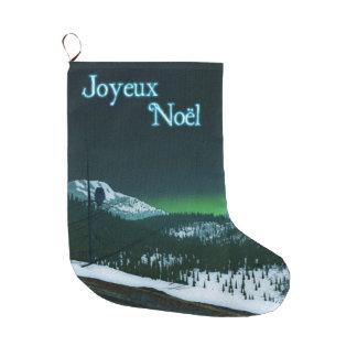Joyeux Noёl -静かな夜 ラージクリスマスストッキング