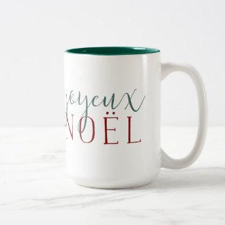 Joyeux Noelの休日 ツートーンマグカップ