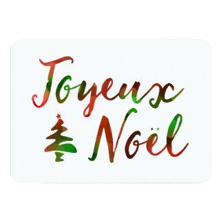 Joyeux Noelの《写真》ぼけ味の木ライト カード