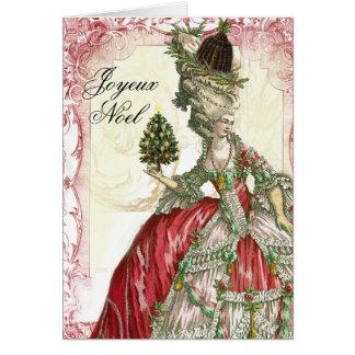 Joyeux Noel カード