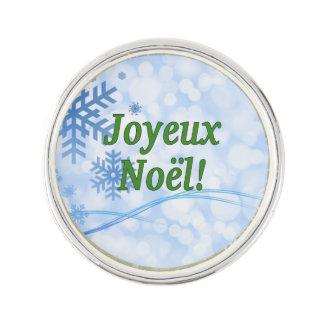 Joyeux Noël! フランスのなgfのメリークリスマス ラペルピン