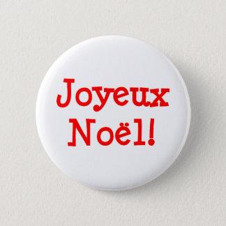 Joyeux Noel 5.7cm 丸型バッジ