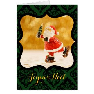 Joyeux Noel Cadre V decoratif Photo Carte de Voeux カード