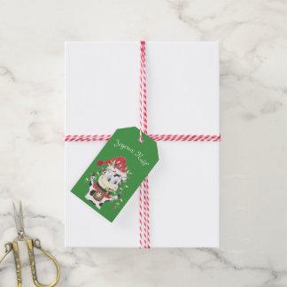 Joyeux Noël Snowbell gift tag ギフトタグ