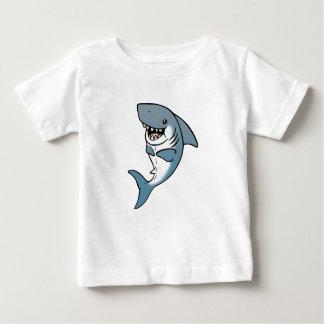 JoyJoyの鮫 ベビーTシャツ