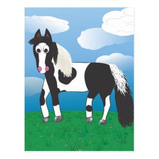 JR.ペンキの馬 ポストカード