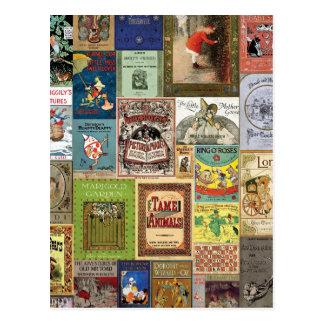 JSBCの表紙BOOKCOVERSのコレクションのカラフルように ポストカード
