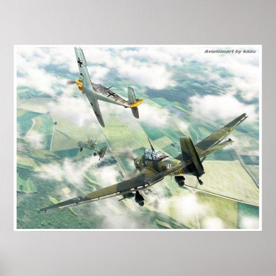 Ju87 ポスター