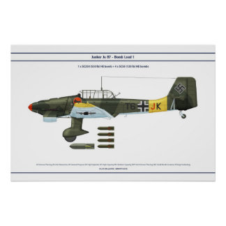Ju 87の負荷1 ポスター