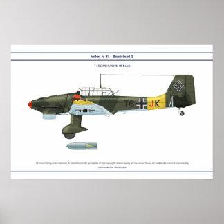 Ju 87の負荷2 ポスター