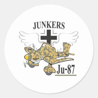 ju-87 stuka ラウンドシール