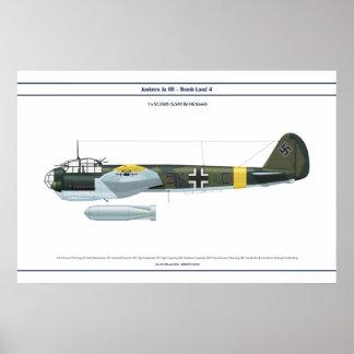Ju 88の負荷4 ポスター