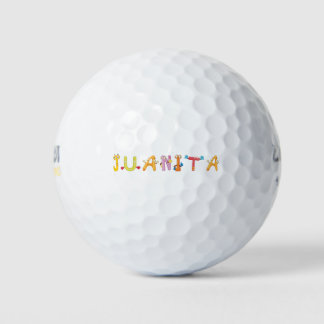 Juanitaのゴルフ・ボール ゴルフボール
