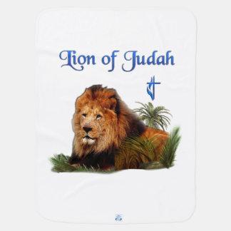 Judahのクリスチャンプロダクトのライオン ベビー ブランケット