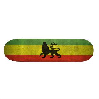 Judahのライオン 18.1cm オールドスクールスケートボードデッキ