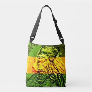 Judahの十字の遺体袋のジャマイカのライオン クロスボディバッグ