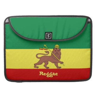 Judah Macbookのプロ15袖のラスタのレゲエのライオン MacBook Proスリーブ