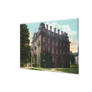 JuddホールのWesleyan大学の外観 キャンバスプリント