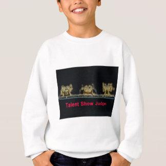 judges.jpgを話すために聞くために見て下さい スウェットシャツ