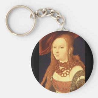 Judith (詳細)、ルーカスCranach_Portraits キーホルダー