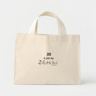 Judo_GSの後輩のスタイル ミニトートバッグ
