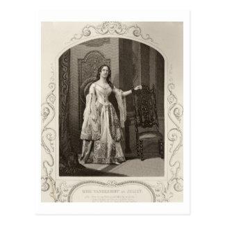 Julietの「Romの行為III場面1としてVandenhoffを恋しく思って下さい ポストカード