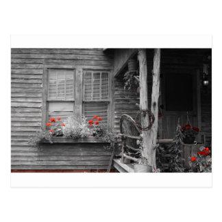 Julietteジョージアの古い家 ポストカード