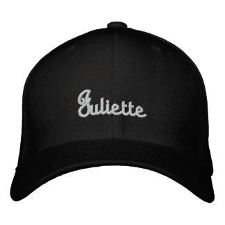 Juliette 刺繍入りキャップ